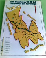Peta Penyebaran Sekolah
